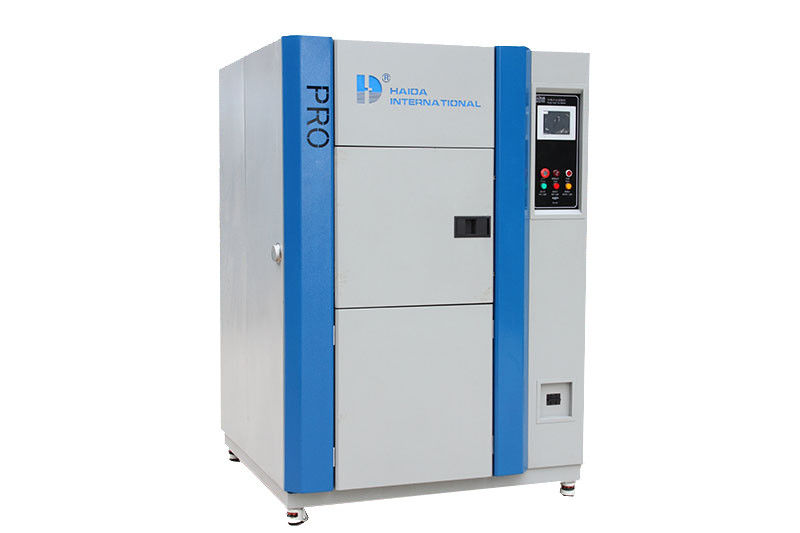 Professional Hot and Cold Temperature Thermal  Shock Test Chamber Three-zone chamber